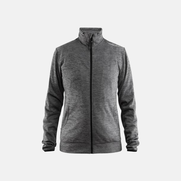Dark Grey Melange Leisure Jacket (Dam) Craft funktionsjacka med huva i herr- och dammodell med reklamtryck
