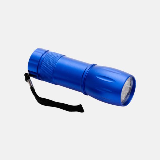 Blå Ficklampa Mini med eget reklamtryck