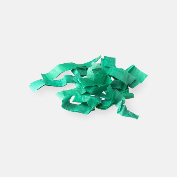 Pappers konfetti Grön Konfettikanoner