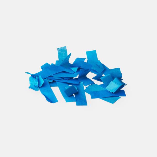 Pappers konfetti Blå Konfettikanoner