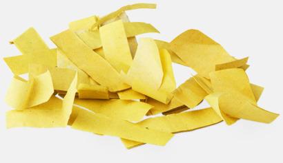 Pappers konfetti Gul Konfettikanoner