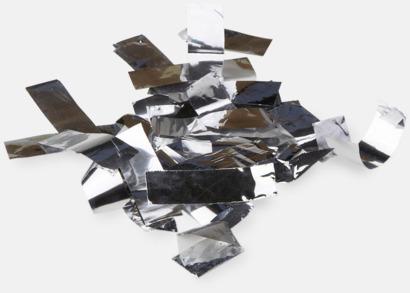 Folie konfetti Silver Konfettikanoner