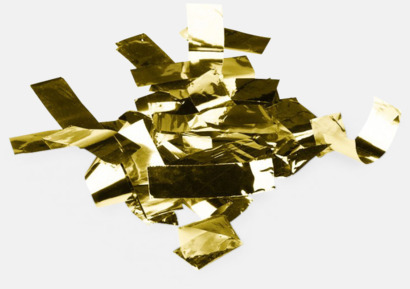 Folie konfetti Guld Konfettikanoner