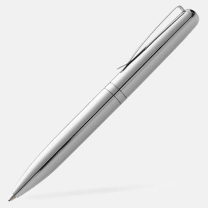 Silver Små metallpennor med reklamtryck