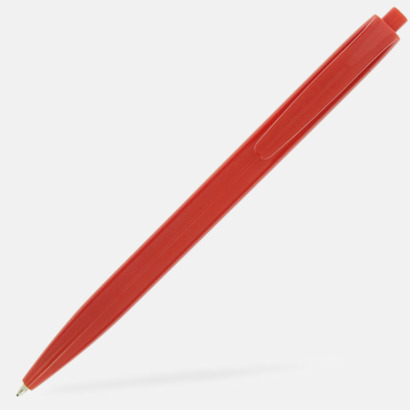 Röd Basic kulspetspenna med eget reklamtryck