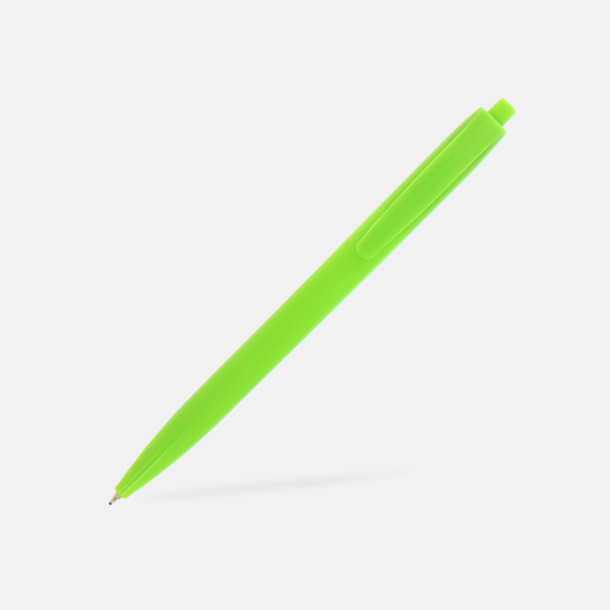 Limegrön Basic kulspetspenna med eget reklamtryck