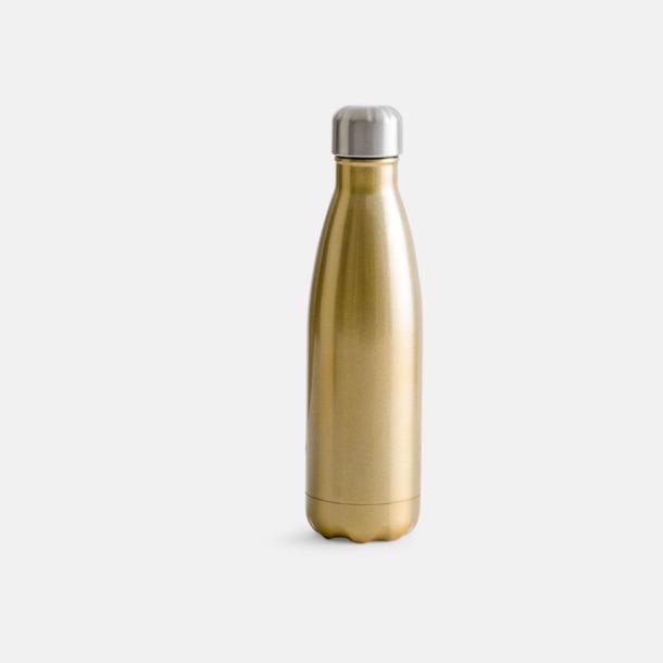 Guld Stålvakuumflaskor från Sagaform med reklamtryck