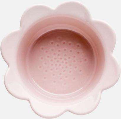 Rosa Ugnsfasta småskålar från Sagaform med reklamtryck