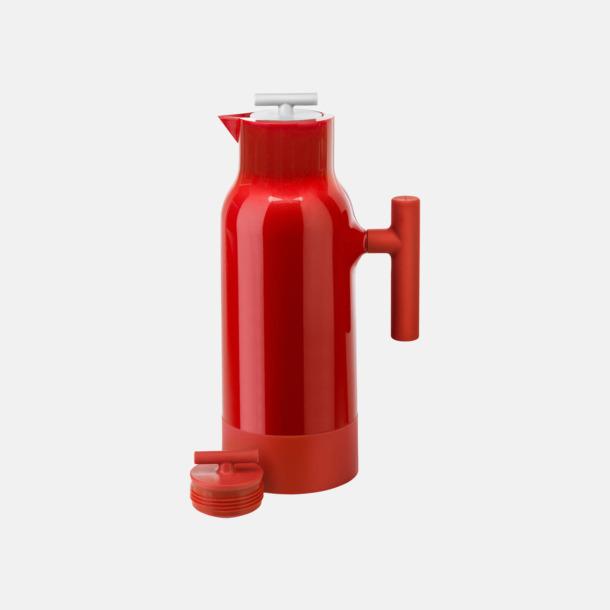 Röd / Vit Kaffekannor från Sagaform med reklamtryck
