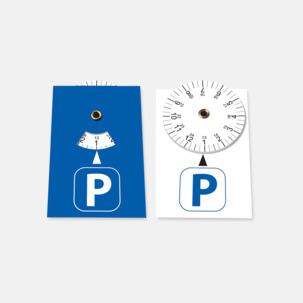 P-skivor som är ett klistermärke med eget tryck