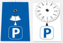 P-skiva Sticker