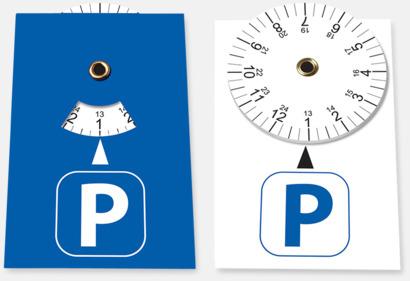 Small P-skivor som är ett klistermärke med eget tryck