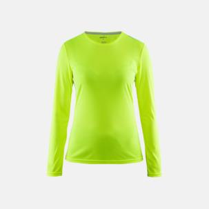 Långärmade sport t-shirts från Craft med reklamtryck