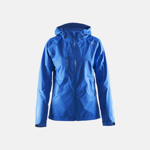 Sweden Blue (dam) Craft regnjackor med eget tryck.