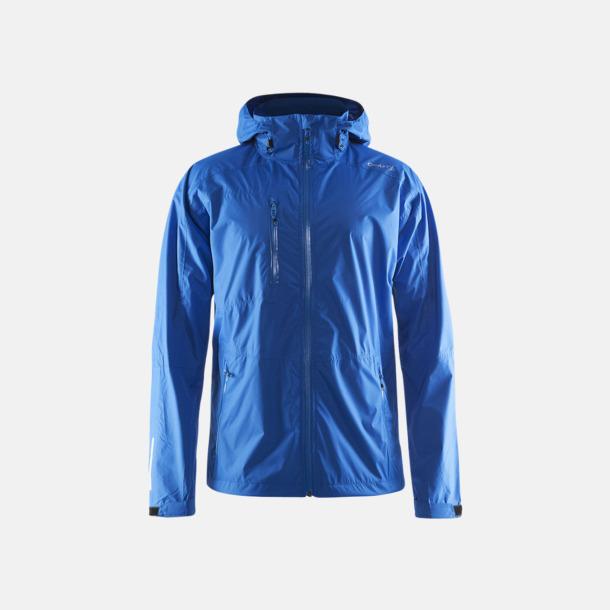Sweden Blue (herr) Craft regnjackor med eget tryck.