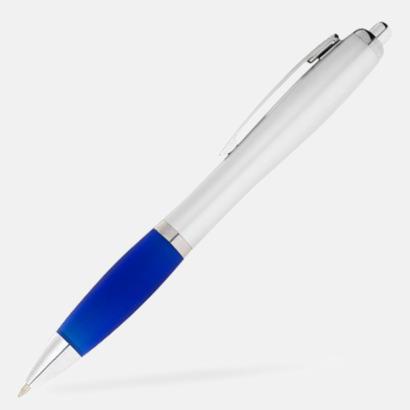 Kungsblå/Silver Bläckpennor med egen logga