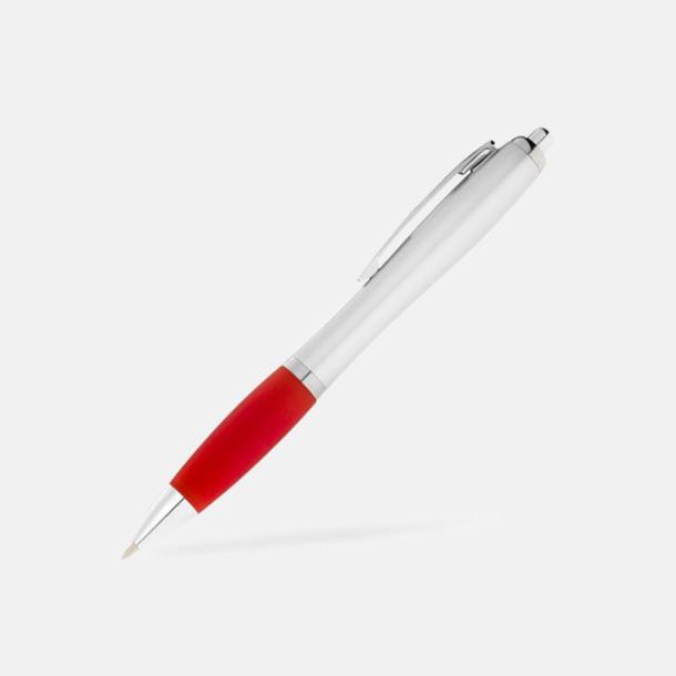 Röd/Silver Bläckpennor med egen logga