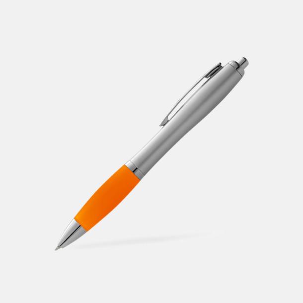 Orange/Silver Bläckpennor med egen logga