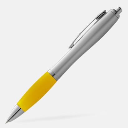 Gul/Silver Bläckpennor med egen logga