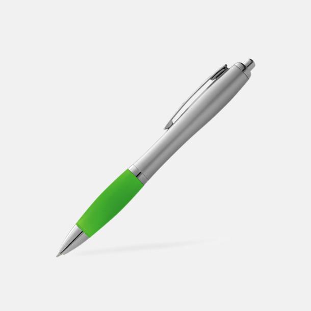 Limegrön/Silver Bläckpennor med egen logga