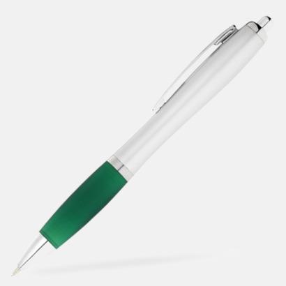 Grön/Silver Bläckpennor med egen logga