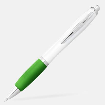 Lime/Vit Bläckpennor med egen logga