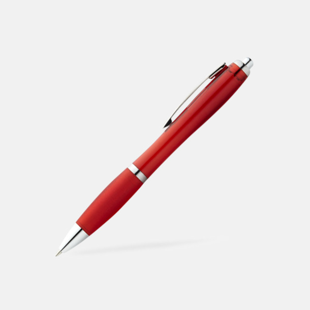Röd Bläckpennor med egen logga