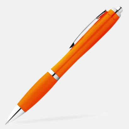 Orange Bläckpennor med egen logga