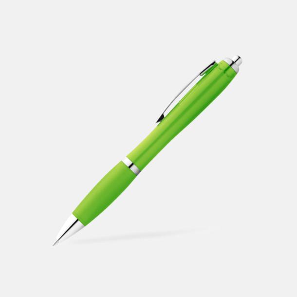 Limegrön Bläckpennor med egen logga
