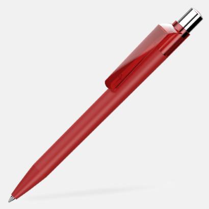 Röd Mjukare bläckpennor med reklamtryck