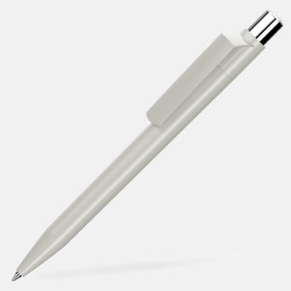 Grå Blanka pennor med reklamtryck
