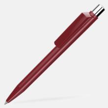 Blanka pennor med reklamtryck
