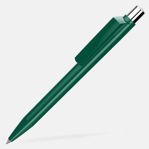 Mörkgrön Blanka pennor med reklamtryck