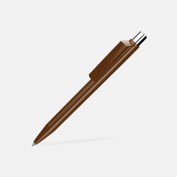 Brun Blanka pennor med reklamtryck