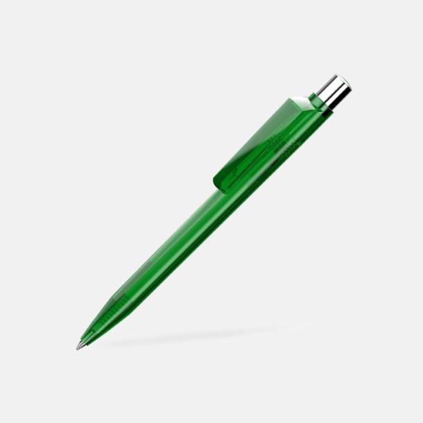 Mörkgrön Unika plastpennor med reklamtryck
