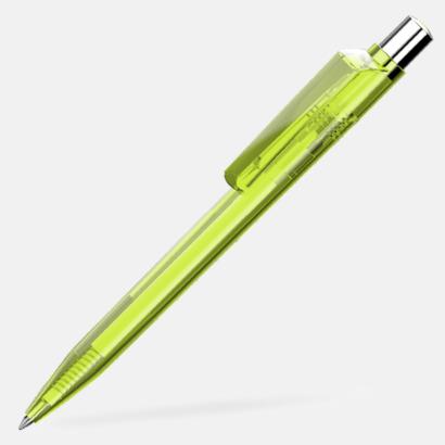 Ljusgrön Unika plastpennor med reklamtryck