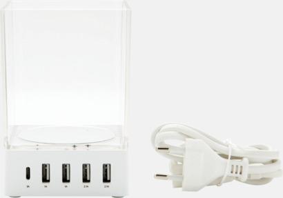 USB-laddare & pennhållare med reklamtryck