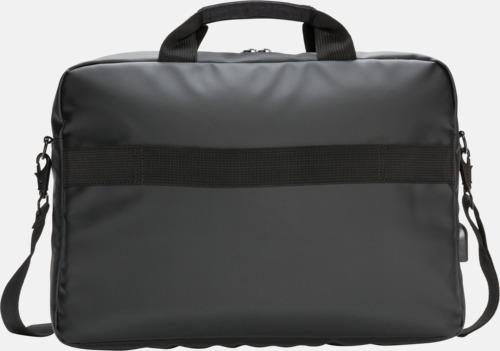 """Baksida Modern 15"""" laptopväska med reklamtryck"""