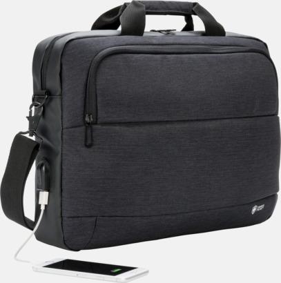 """Modern 15"""" laptopväska med reklamtryck"""