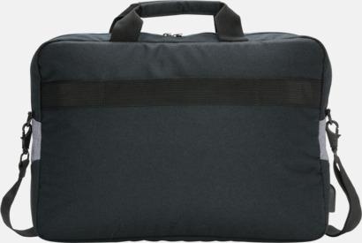 """Baksida 15"""" laptopväskor med reklamtryck"""