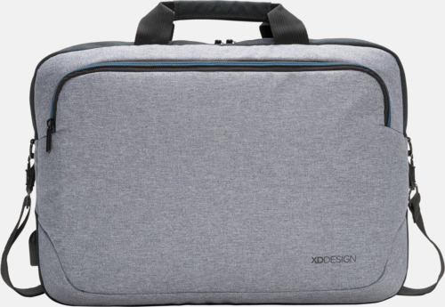 """Framsida 15"""" laptopväskor med reklamtryck"""