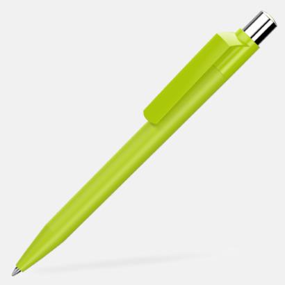 Ljusgrön Mjukare plastpennor med reklamtryck