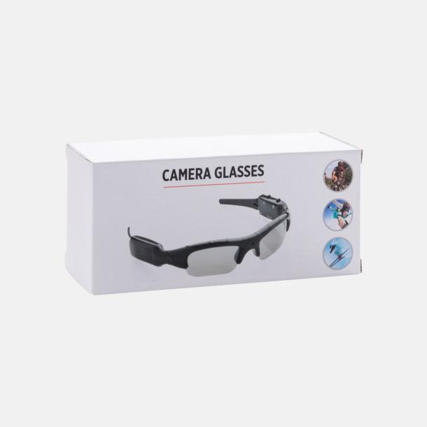 Presentförpackning Solglasögon med kamera med reklamtryck