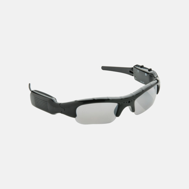 Solglasögon med kamera med reklamtryck