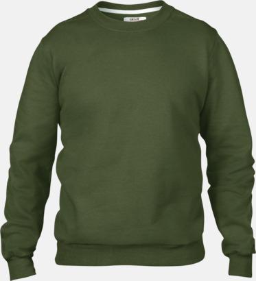 City Green (herr) Fleecetröjor med reklamtryck