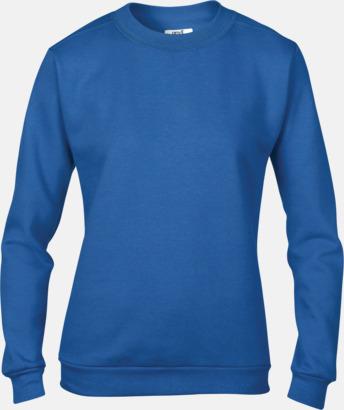 Royal Blue (dam) Fleecetröjor med reklamtryck