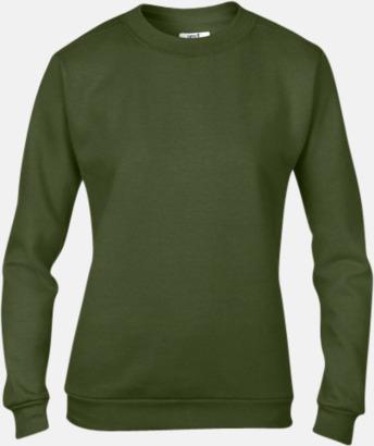 City Green (dam) Fleecetröjor med reklamtryck
