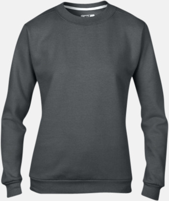 Charcoal (dam) Fleecetröjor med reklamtryck