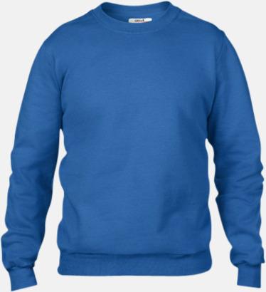 Royal Blue (herr) Fleecetröjor med reklamtryck