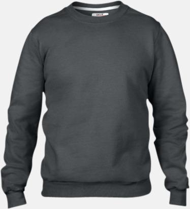 Charcoal (herr) Fleecetröjor med reklamtryck